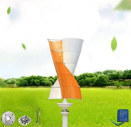 Amazon com : Wind Turbine Generator Orange and White Mini windmill