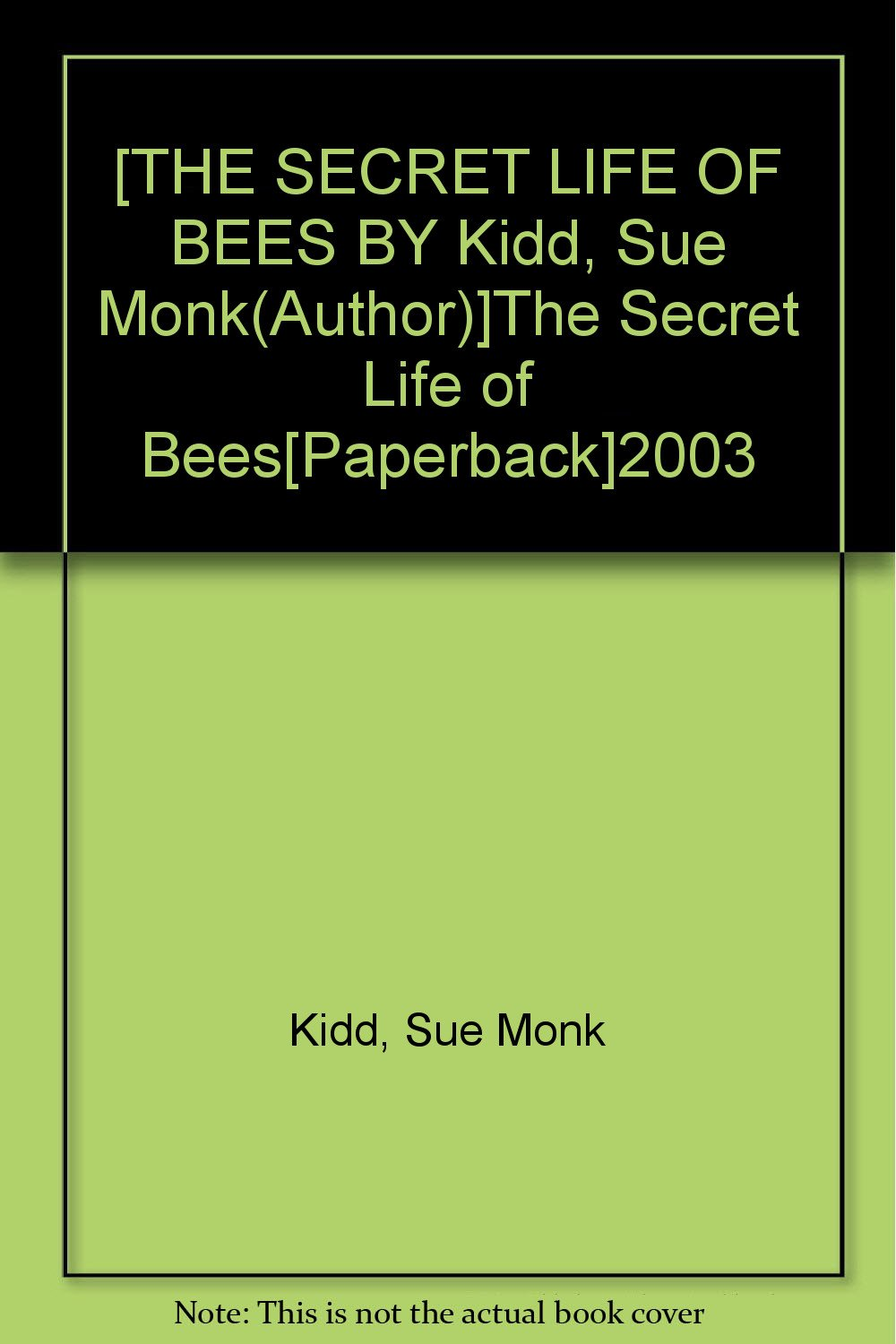 Download Secret Life of Bees pdf epub
