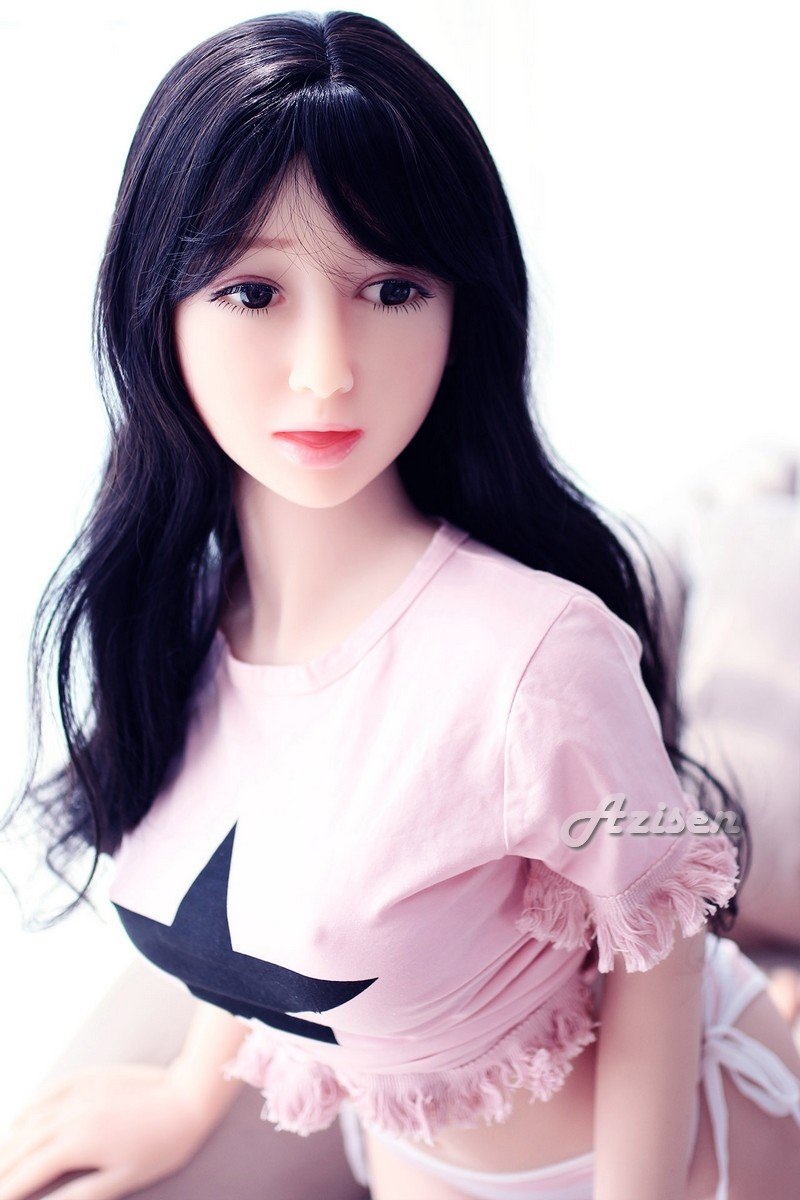 Azisen - 55.12inch E-Cup Oral Sex Doll Realistic Ass Vagina Lifelike Real Love Male Toy Adult Male Self Pleasure Toys for Sex 140cm by Azisen