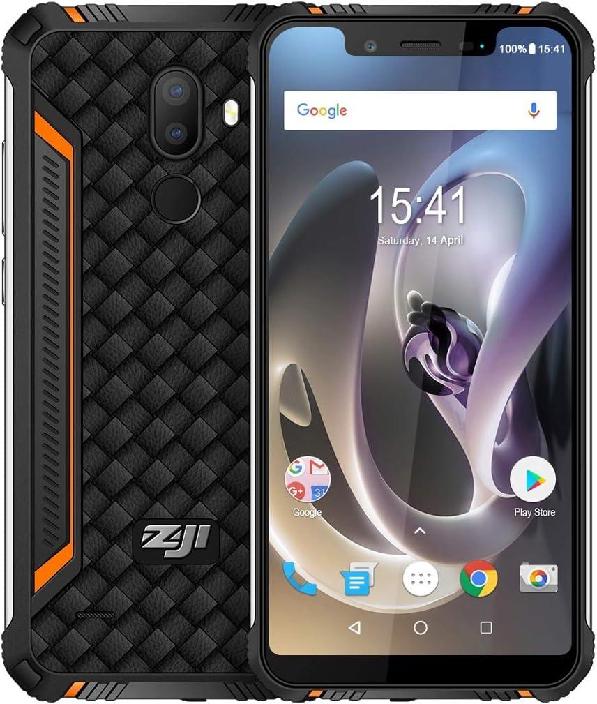 4 G LTE, sin Contrato, homtom zoji Z33 IP68 Resistente al Agua al ...
