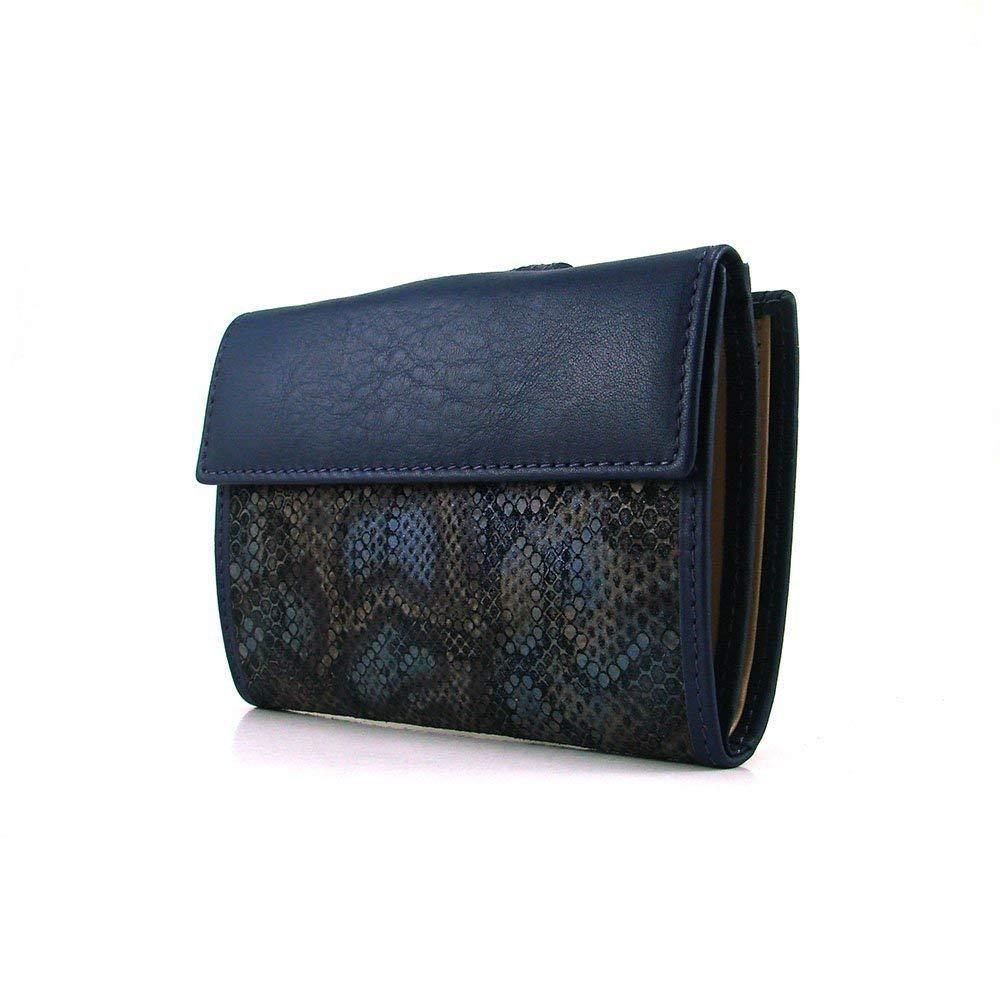Cartera para mujer, hecho a mano en España, marca casanova, hecha en piel de vacuno, Ref. 23314 Azul: Amazon.es: Handmade