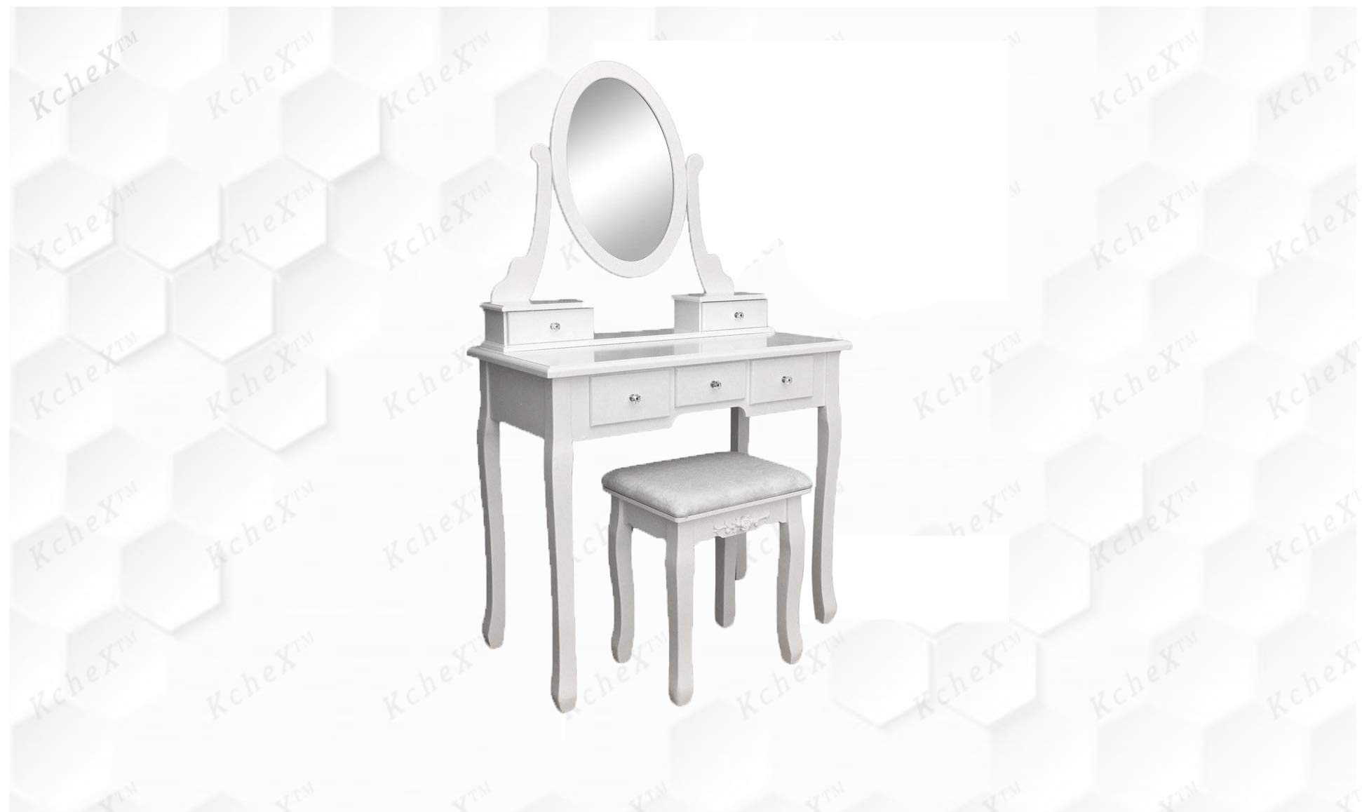 KCHEX__Vanity Makeup Dressing Table