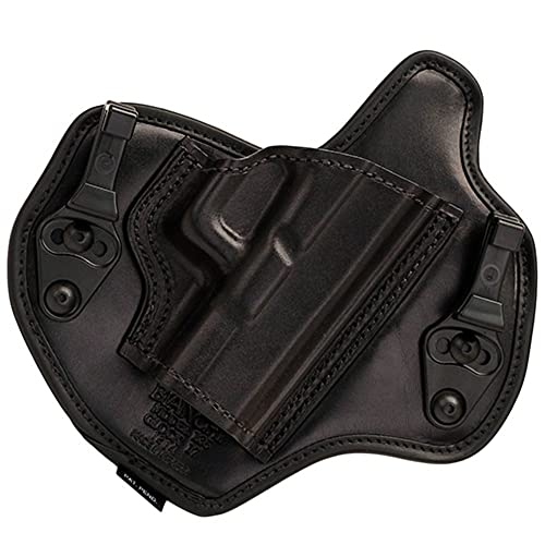 Bianchi Allusion Series 135 Suppression Tuckable Inside the Waistband Holster Glock 17, 22, 31 Leather