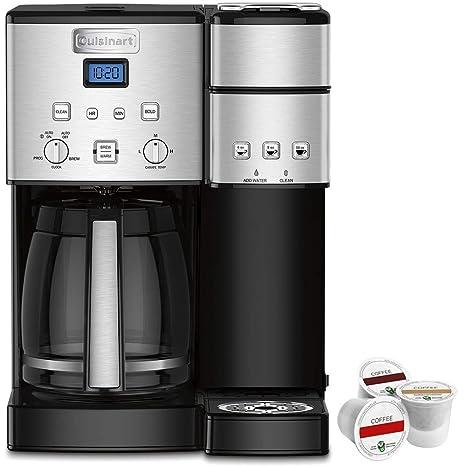 Amazon.com: Cuisinart 12-cup cafetera y cápsula Brewer ...