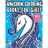 Unicorn Coloring Books for Girls 4-8: Beautiful unicorn coloring book for kids – For Unicorn Lovers, Boys, Girls, Kids 4-8, Kids 8-12 (Kids of All Age & Adults) Fun for Relaxing unicorn coloring book