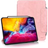 FYY Case for iPad Pro 11 Inch 2020 & 2018,Support iPad Pencil Charging,Auto Wake/Sleep, Protective Leather Cover with Pencil