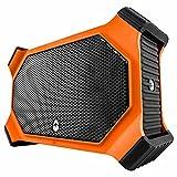 ECOXGEAR EcoSlate Waterproof Bluetooth Speaker-{Orange}