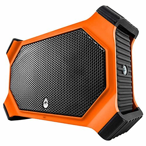 ECOXGEAR EcoSlate Waterproof Bluetooth Speaker-{Orange} by ECOXGEAR