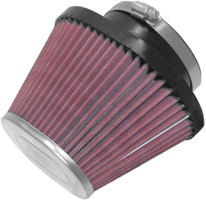 K and N RC-70031 Car and Motorcycle Universal Chrome Filter