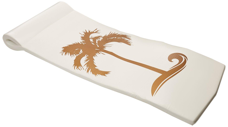 TRC Recreation Sunsation Pool Float, White/Bronze Palm