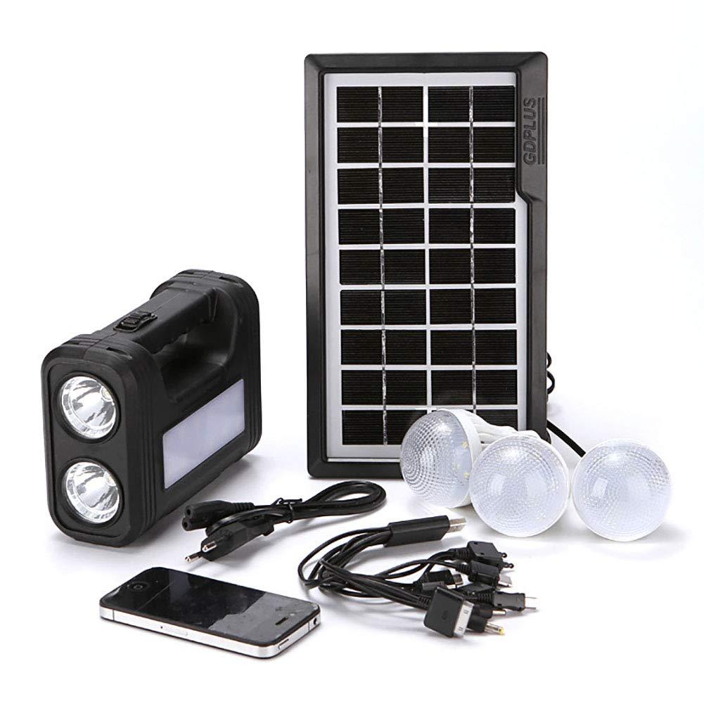 Solar Luz Iluminacion Exterior Aplique Proyector Focos Interior ...