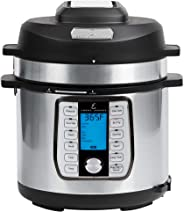 Emeril Lagasse Pressure AirFryer Cooker, Air Fryer, Steamer and Electric Multi-Cooker. Air Fry Basket and Crisper Lid