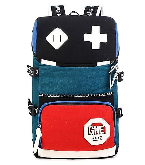 47aeaae09e0 Image Unavailable. Image not available for. Color  X-Bag Women Canvas Korea  Style Street Bag Laptop Backpack School Bag Travel Daypack Handbag