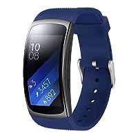 Aresh für Samsung Gear Fit 2 Zubehör uhrenarmband , weiche Silikon Ersatz Armband für Samsung Gear Fit 2