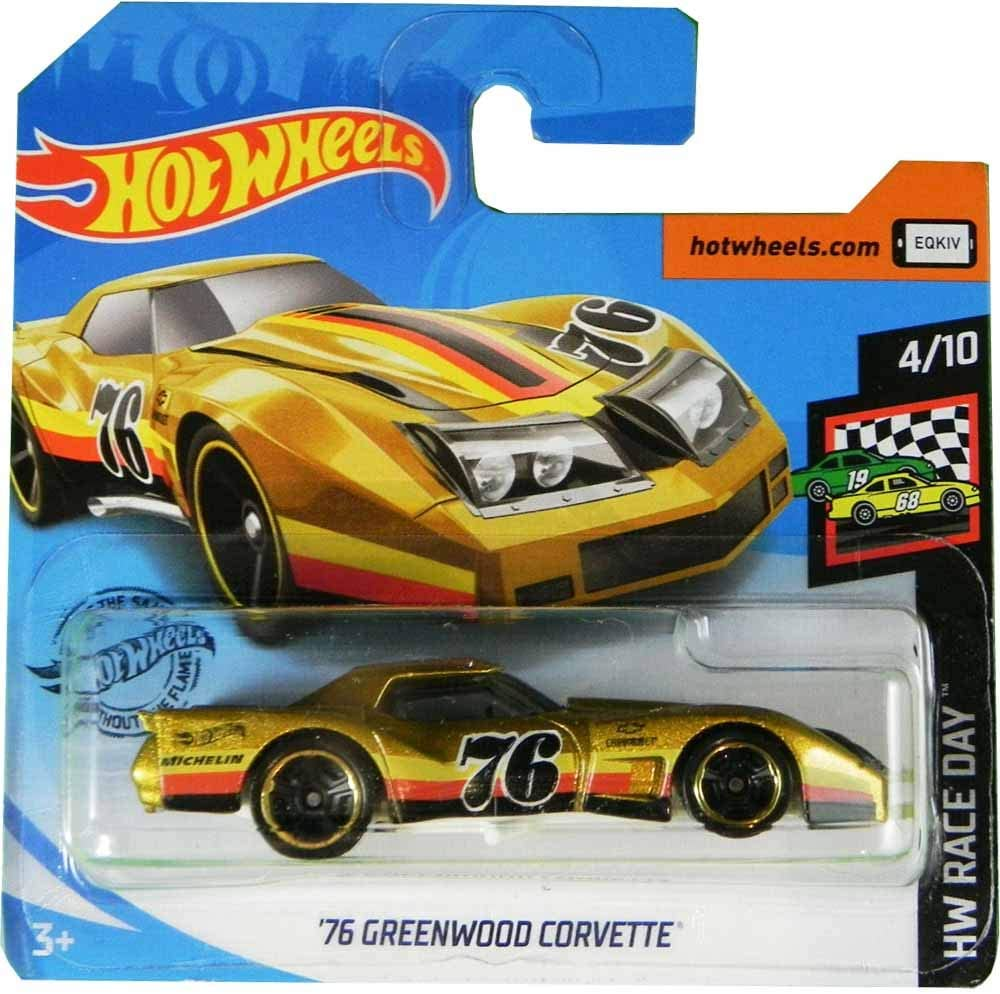 FM Cars Hot-Wheels´76 Greenwood Corvette HW Race Day 4/10 2020 34/250