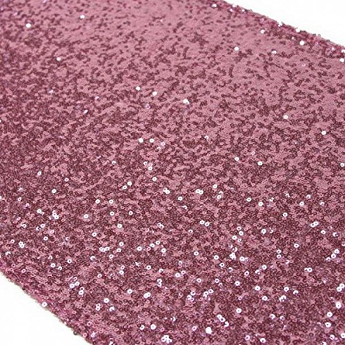 Koyal Wholesale Sequin Table Runner, 12 by 108-Inch, (Cheap Wholesale Candy)