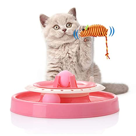 Juguete interactivo para gatos Gato de primavera Ratón ...