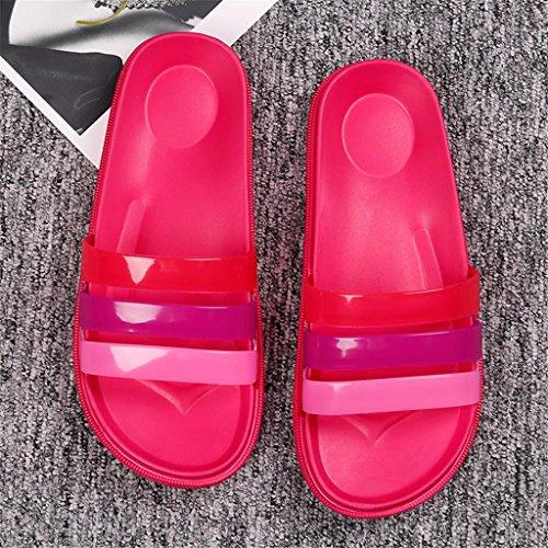 para suaves de Sandalias EVA baño ocasionales Ultraligero D cómodas casa de Zapatillas Sandalias confort de mujer antideslizante Xwqfq8