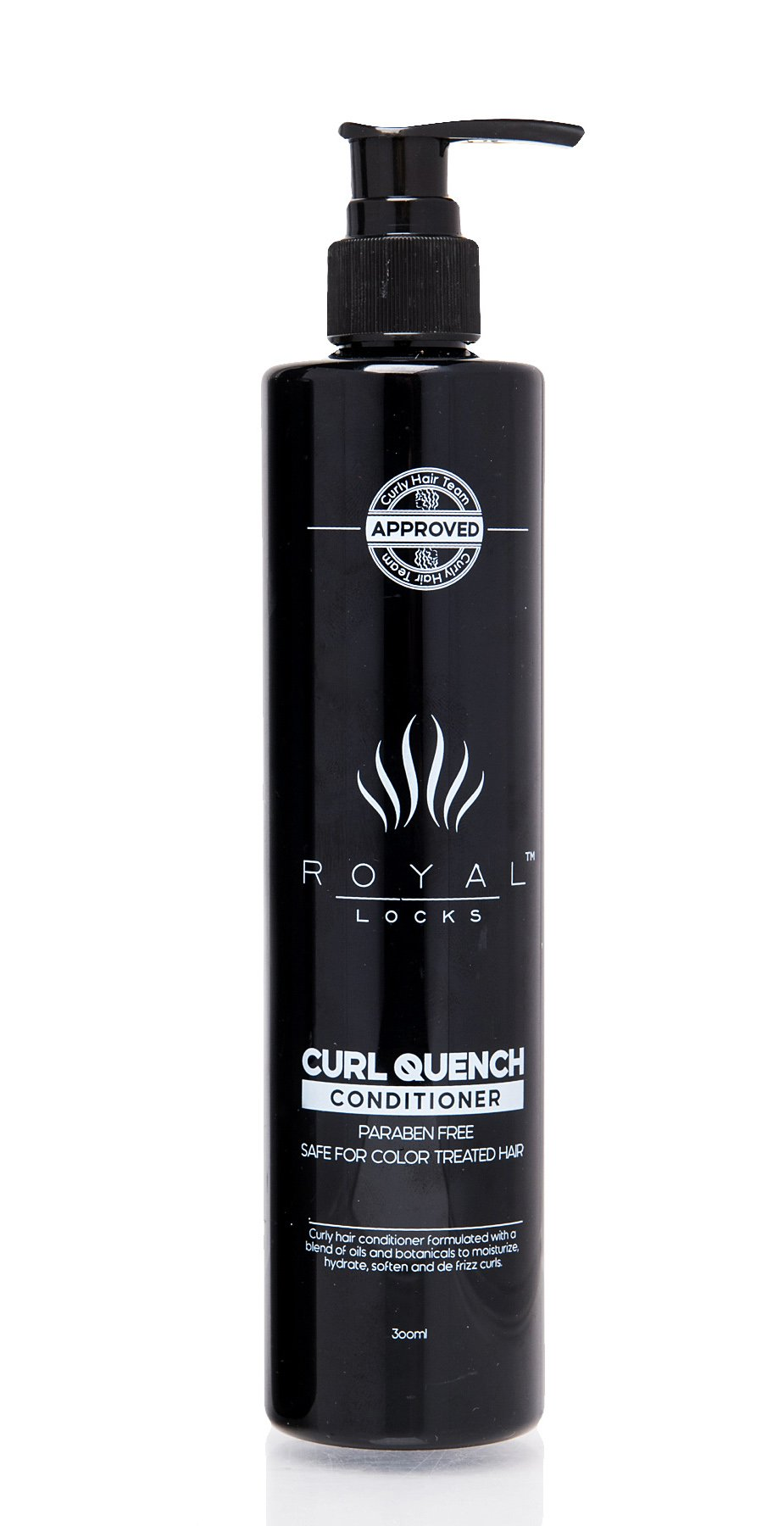 Curl Quench Conditioner by Royal Locks. Argan Oil and Keratin Infused . Sulfate and Paraben Free for Curly , Colored , Permed , Dry , Grey or Damaged Hair