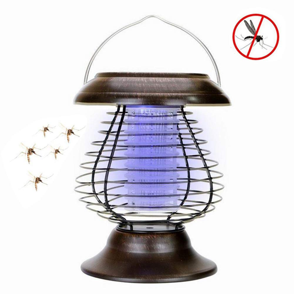 Insect Killer,Mosquito Bug Killer Trap,Bug Zapper Flying Insect Trap with Hook,Poison Free,No Radiation,Non-Chemical,for Indoor and Outdoor