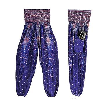 Señoras de los Bloomers de los Pantalones Pantalones harén ...