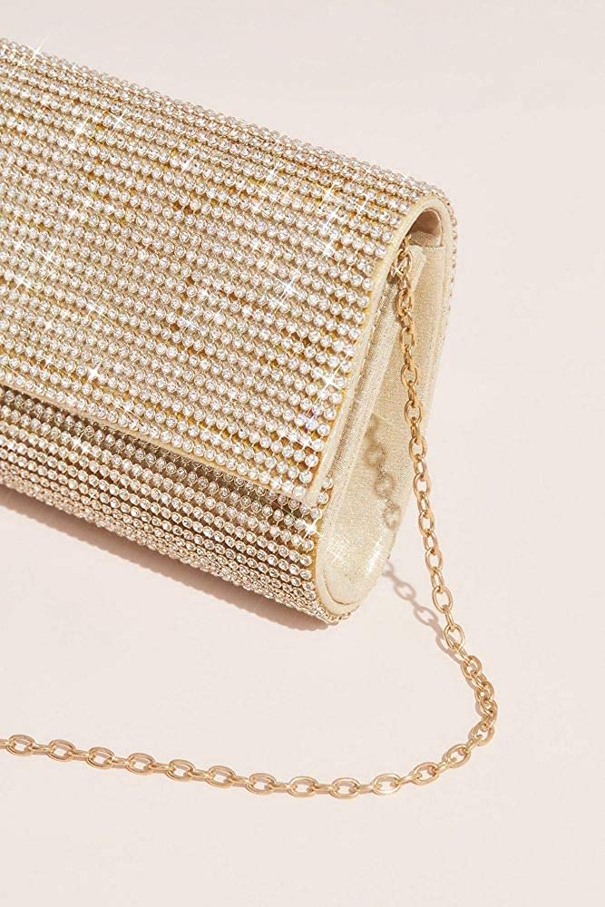 Crystal Mesh Clutch Style E6257J