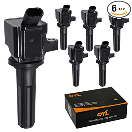 QYL Pack Of 6 Ignition Coil Replacement For