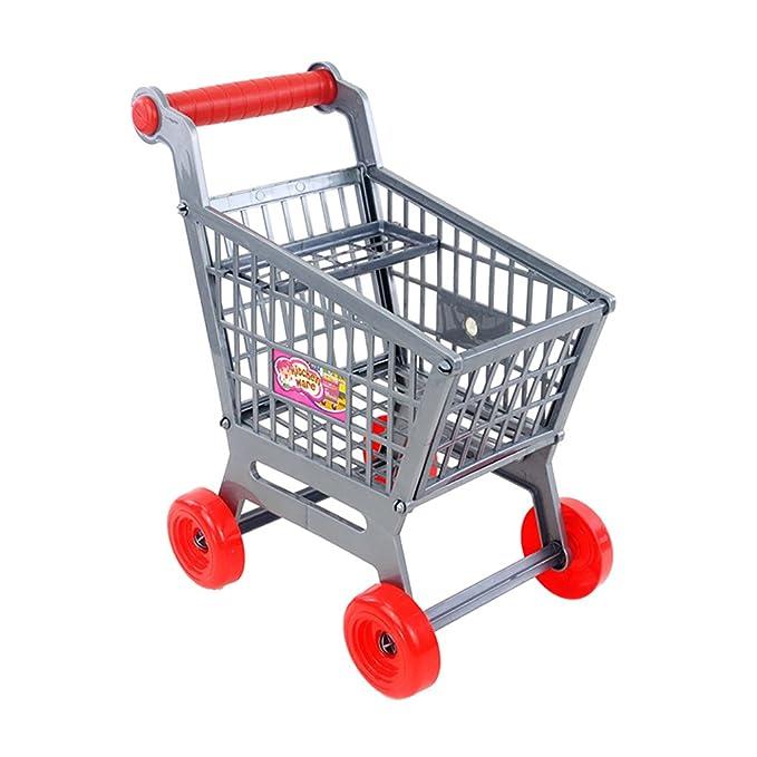 Juguete Mini Carrito Carro de Compras de Supermercado en Miniatura ...