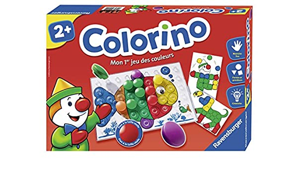 db01d067e6f6b Amazon.com  Ravensburger – 24011 – Jeu Educatif – Colorino  Toys   Games