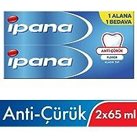 Ipana Kalsident Klasik Tat (65 ml + 65 ml) Diş Macunu 1 Alana 1 Bedava Paketi