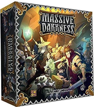 Massive Darkness CMoN Miniatures D/&D 4