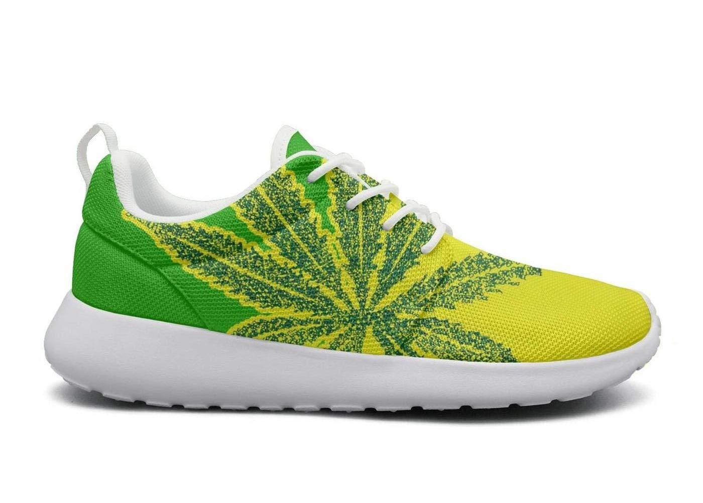 Skull Chef Weed Shoes Marijuana Womens Running Unisex Shoes Cannabis Tennis Sneakers for Women Man