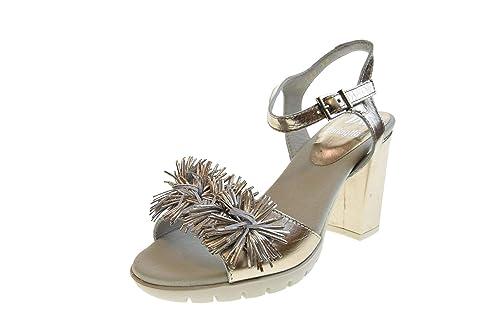 Sandalias Platinum Con Tacón Mujer 99109 Callaghan Zapatos De OknP08w
