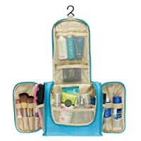 Multifunctional Travel Toiletry Bag Large Makeup Organiser Waterproof Shower Wash Bag Cosmetic Case Household Grooming Kit Storage Travel Kit Pack with Hook