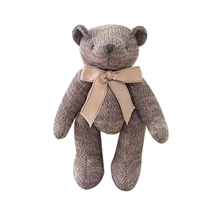 Coj/ín dise/ño de oso color gris oscuro