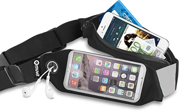 Muvit MUGOO0029 - Cinturón elástico Universal para Smartphone ...