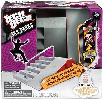 Tech Deck 6015898 New Sk8 Park importado de Alemania Escenario para monopat/ín de dedo // fingerboard modelos surtidos