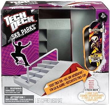 Tech Deck 6015898 New Sk8 Park - Escenario para monopatín de dedo / fingerboard, modelos surtidos [importado de Alemania]