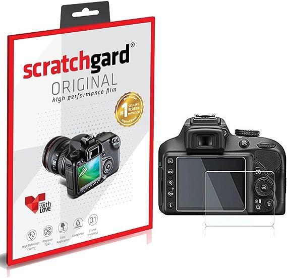 Scratchgard Nikon D3300 Screen Protector   Clear Screen Protectors for Digital Camera