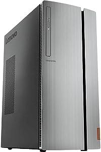 Lenovo IdeaCentre 720 Desktop: Intel Core i7-7700, 8GB DDR4 Memory, 128GB SSD + 1TB Hard Drive, AMD Radeon RX 460 4GB