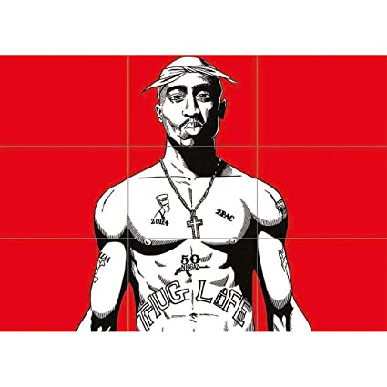 TUPAC SHAKUR 2PAC NEW GIANT WALL AFICHE CARTEL IMPRIMIR CARTELLO POSTER PRINT X1425