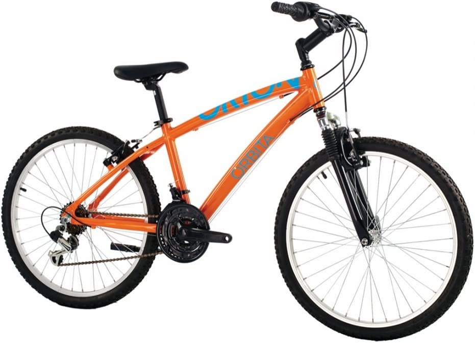 Orbita BTT 24 Orion Bicicleta, Hombre, Naranja, 14: Amazon.es ...