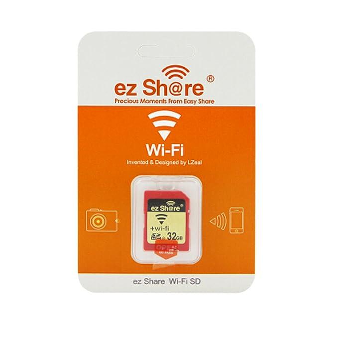 Amazon.com: Ez Share SDHC Class 10 Wireless LAN WiFi 32G SD ...