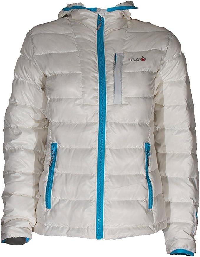 iFLOW Damen Peak Mountain White Women Jacke: