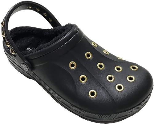 ボア付 crocs custom winter clog