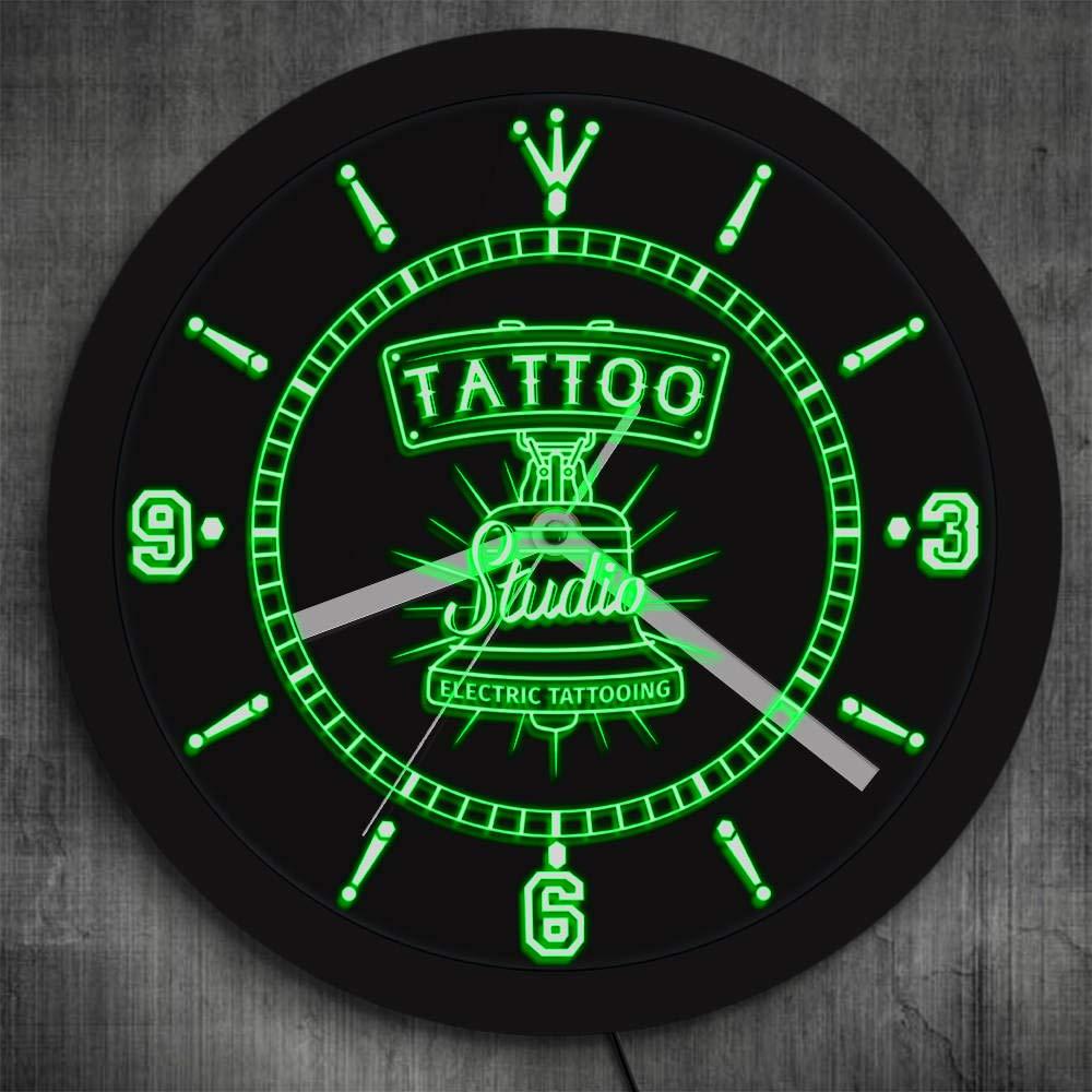 Camión de bomberos luz nocturna diseño de salón de tatuajes retro ...
