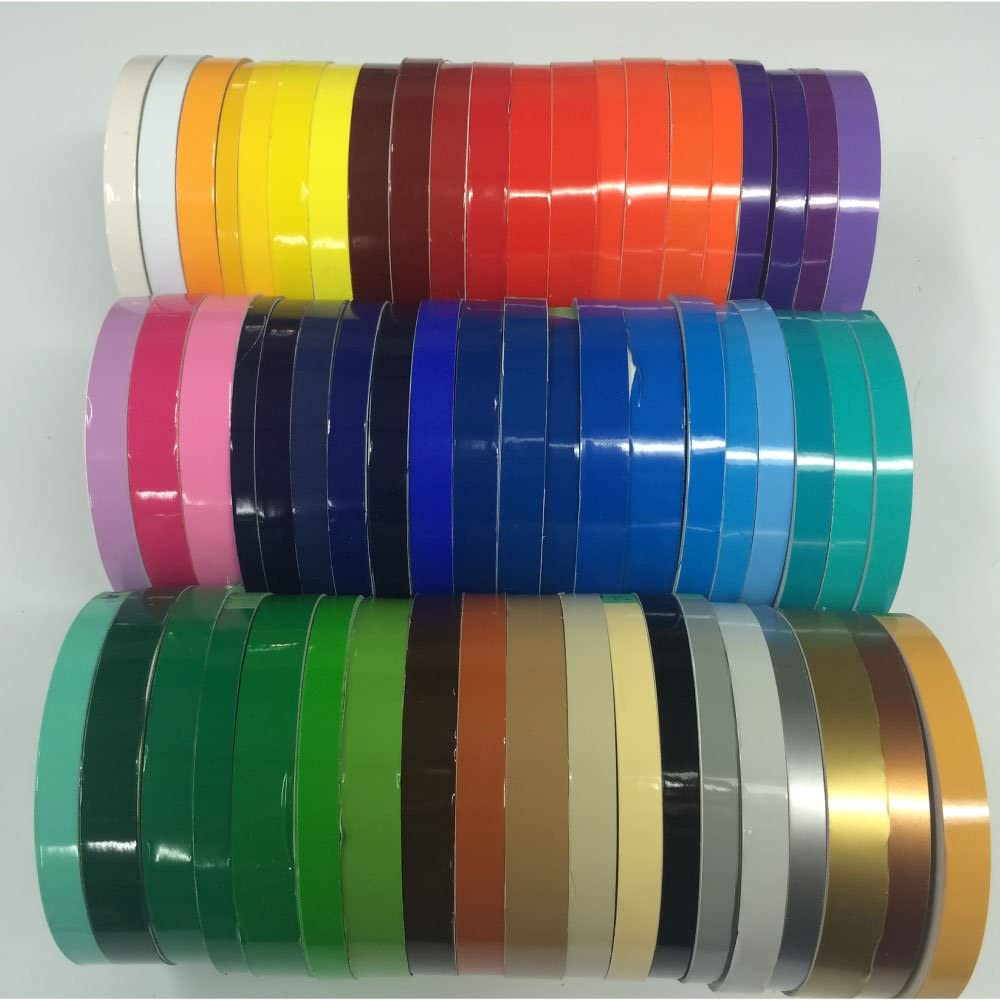 Stickers roll Oracal 651 1 inch x 150ft Decals Vinyl Striping Tape Striping Blue Pinstripes