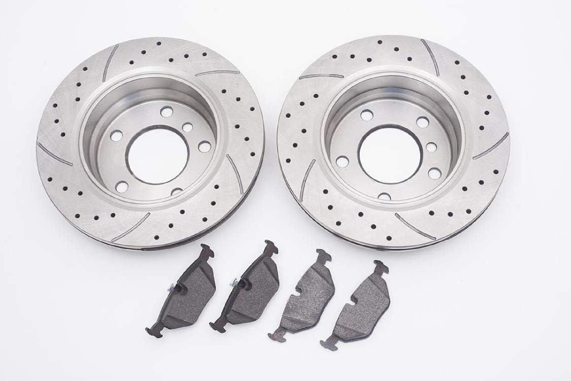 v-maxzone gt0421/GT Sport Bremsscheiben /& Pads/ /vorne 348/mm