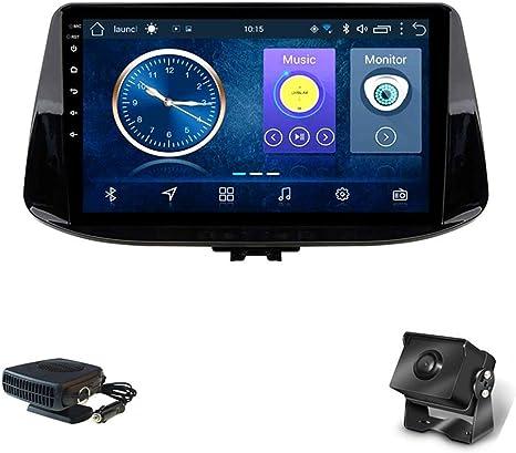 Xmzwd 9 Zoll Autoradio Gps Navigation Android 8 1 Kapazitive Bildschirm Autoradio Für Hyundai I30 2016 2019 Unterstützung Bluetooth Lenkradsteuerung Enthalten Kamera Auto Heizung Küche Haushalt