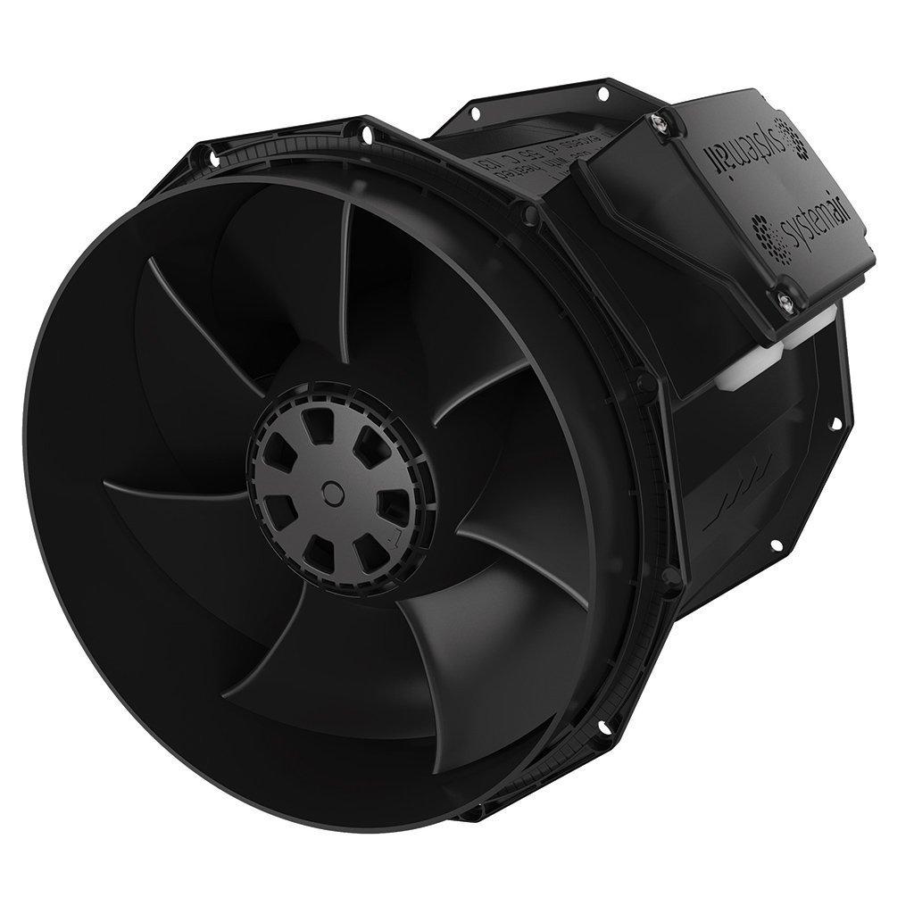 Fantech prioAir 6 Inline Mixed Flow Duct Fan 6 295 CFM 115//1//60 6